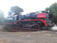 R707 on Bacchus Marsh turntable. 31/07/2005. R.Giri.