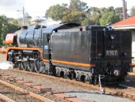 R707 after turning at Bacchus Marsh. 31/07/2006. Photographer unknown.
